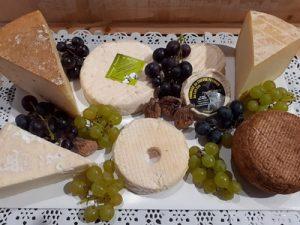 Plateau fromages de Brin de Ferme