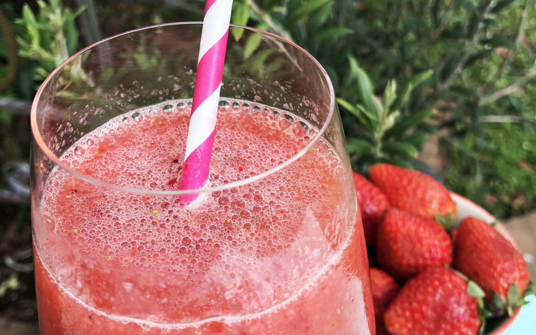Frozé aux fraises